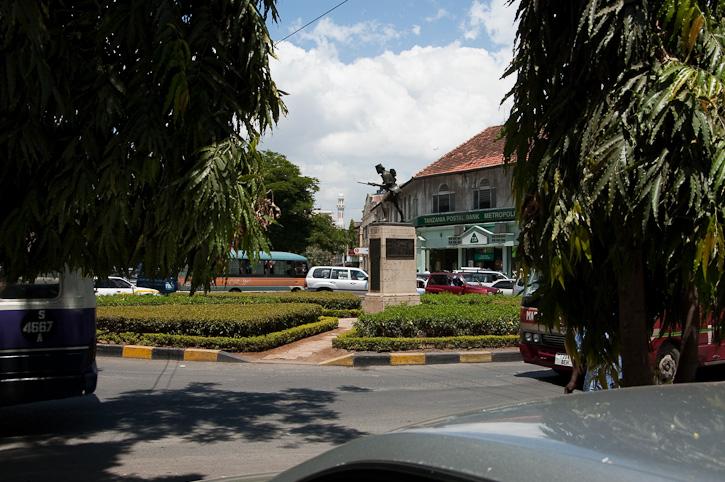 Denkmal zur Kolonialgeschichte